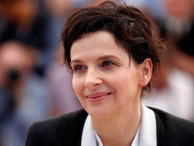 Die französische Schauspielerin Juliette Binoche.