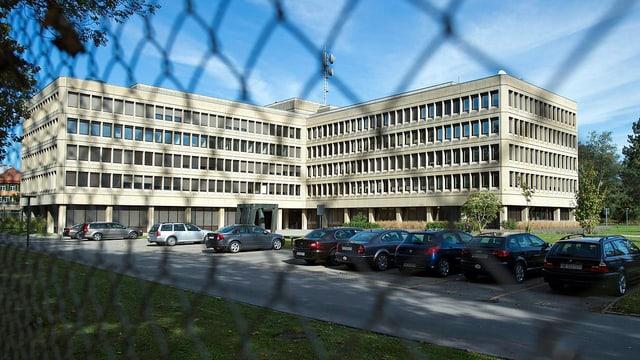 Der Sitz des Nachrichtendienstes Bundes.