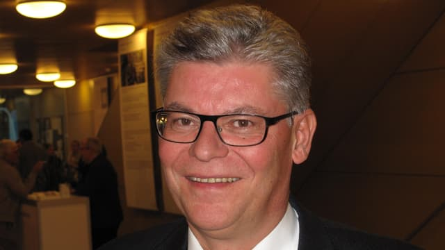 Der Schwyzer Bildungsdirektor Walter Stählin ist zufrieden mit der Entwicklung der PH Schwyz.