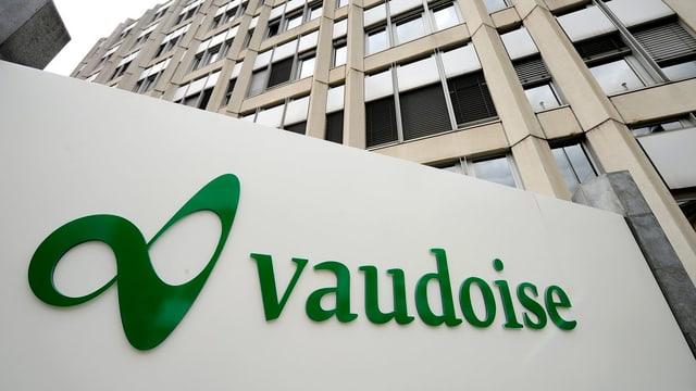 Purtret dal logo da la Vaudoise.