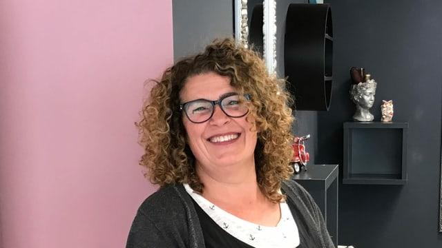Purtret coiffeusa Silvana Di Fini.