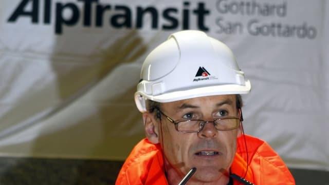 Alptransit-Chef Renzo Simoni.