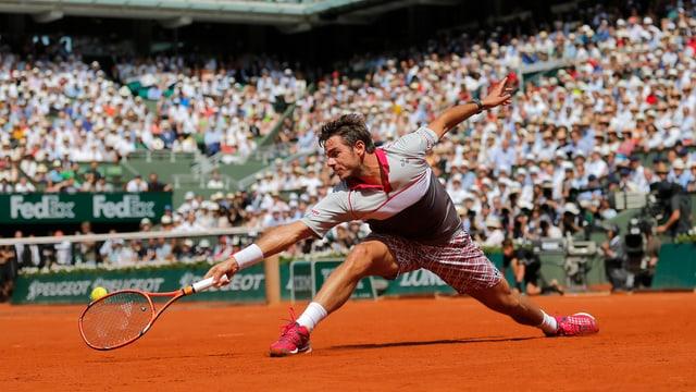 Stan Wawrinka al French Open