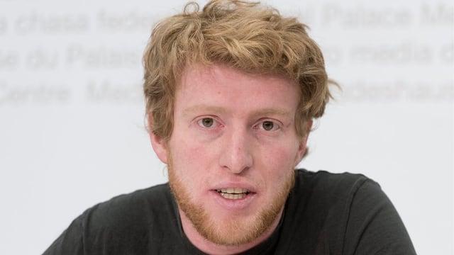 Co-Präsident der Jungen Grünen Schweiz und nachrutschender Kantonsrat Andreas Lustenberger.