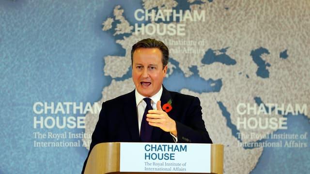 Il primminister britannic David Cameron ha scrit ina brev cun las pretensiuns a l'Uniun europeica.