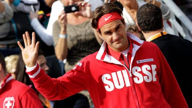 Roger Federer winkt ab - keine Teilnahme am Davis Cup.