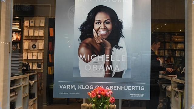Plakat des neuen Buches voin Michelle Obama