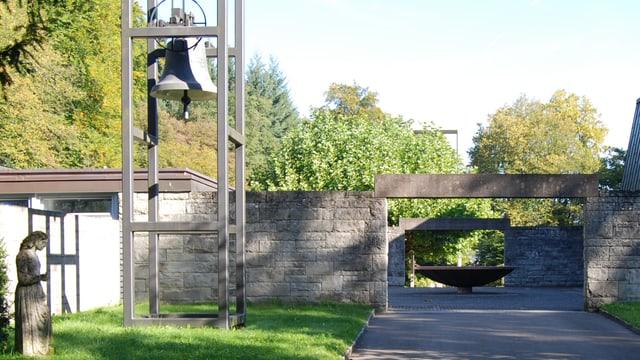 Friedhof Liebenfels, Baden, Eingang