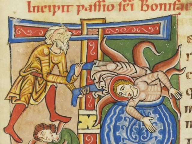 Darstellung des heiligen Bonifatius