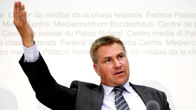 SVP-Parteipräsident Toni Brunner
