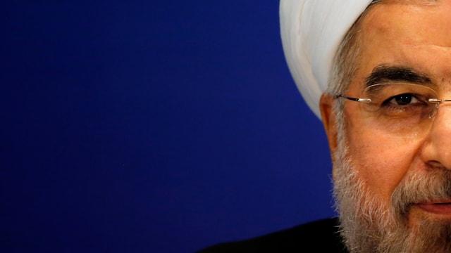 Der amtierende Präsident Hassan Rouhani.