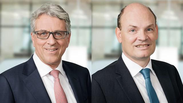 Dr. Christoph Caviezel e Thomas Huber.