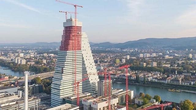 Turm im Bau