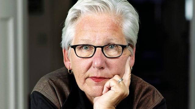 Porträt von Irene Schweizer.