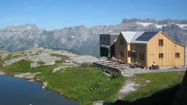 Legler Hütte mit Panorama