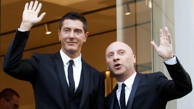 Stefano Gabbana (links) und Domenico Dolce.