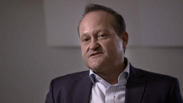 Bruno Bischoff, Leiter der Nachhaltigkeitsabteilung der Credit Suisse.