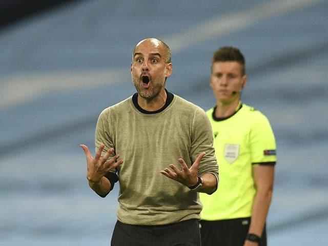 Mit Manchester City hat Pep Guardiola bisher noch nie den CL-Final erreicht.