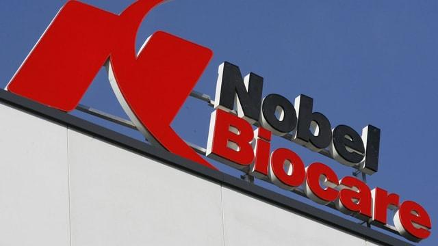 Logo von Nobel Biocare.