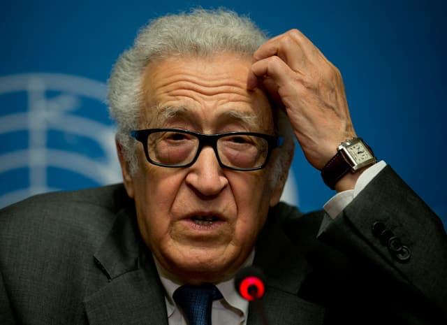 UN-Vermittler Lakhdar Brahimi