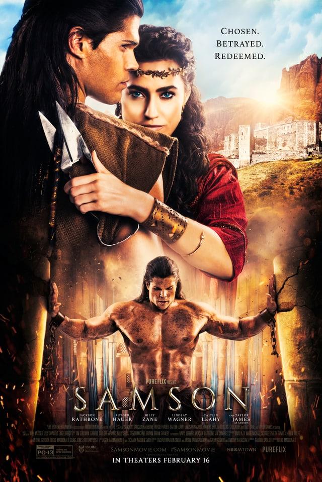 Kinoplakat von Samson.
