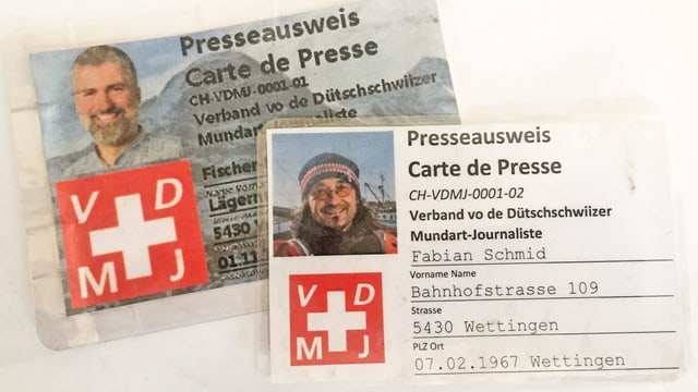 Presseausweise