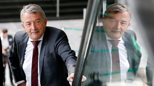 Wolfgang Niersbach, l'anteriur president dal DFB.
