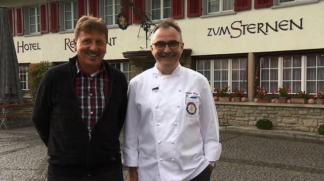 Video «Kanton Aargau – Tag 2 – Restaurant zum Sternen, Würenlingen» abspielen