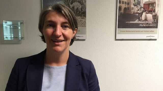 "Myriam Keller maina la nova partiziun da Grischun vacanzas ""Innovation & Research""."
