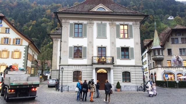 Das Rathaus Altdorf.