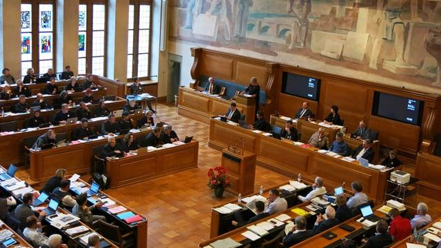 Blick ins bernische Kantonsparlament