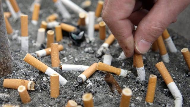 Bleras cigarettas.