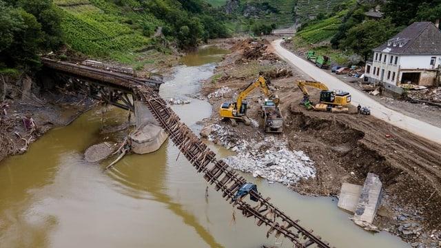 Las inundaziuns han gì effect sin il cumbat electoral