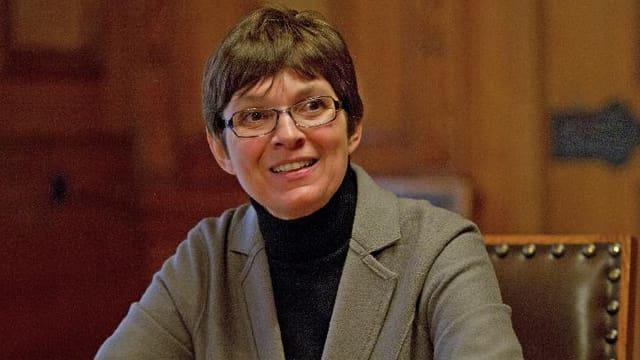 Marie-Paule Jungblut, Direktorin des Historischen Museums Basel.
