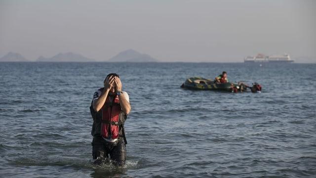 Flüchtlinge erreichen Kos
