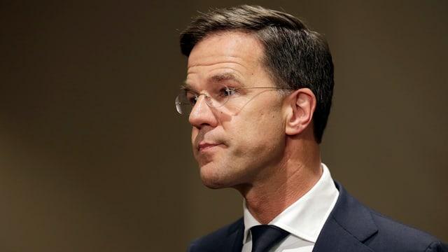 Der niederländische Ministerpräsident Mark Rutte