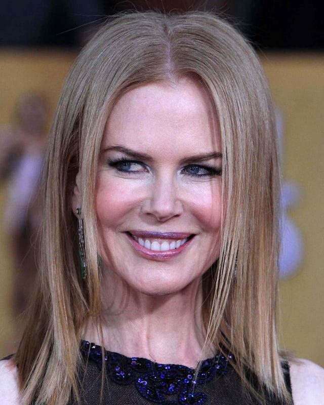 Nicole Kidman mit nachlassender Botox-Wirkung