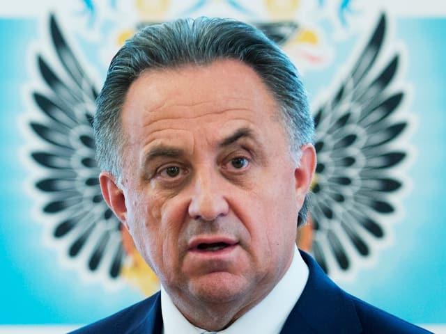 Der russiche Sportminister Vitaly Mutko