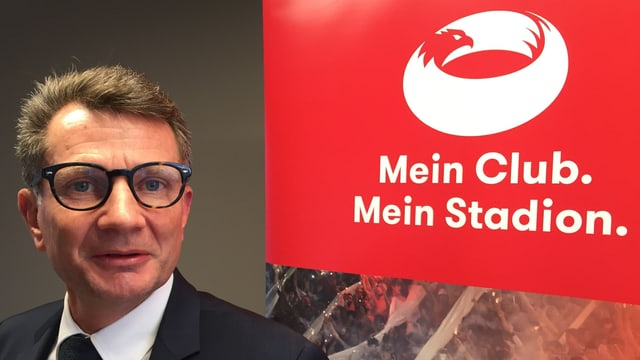 Michael Hunziker, ehem. Präsident des FC Aarau und Initiant von meinstadion.ch. Er will vorwärtsmachen.