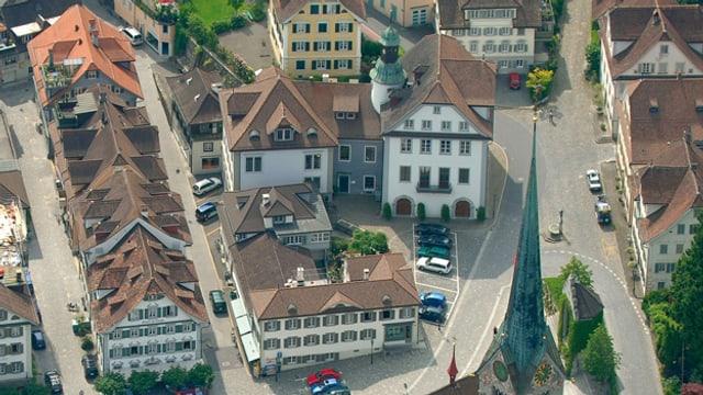 Luftbild Stans