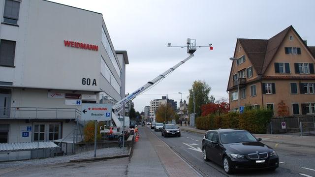 Die kameragestützte Nummernschilderhebung zur Analyse des Verkehrs wird auch in anderen Kantonen angewendet.