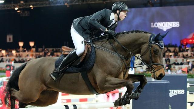 Martin Fuchs auf seinem Pferd Future.
