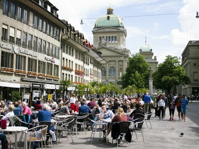 Bärenplatz in Bern