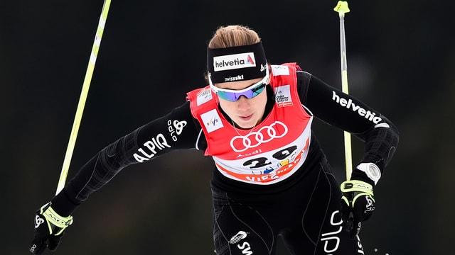 Laurien van der Graaff beim Sprint.