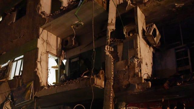 Ruinas a Damascus.