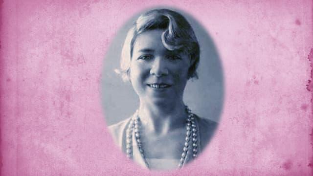Dichterin Alfonsina Storni.