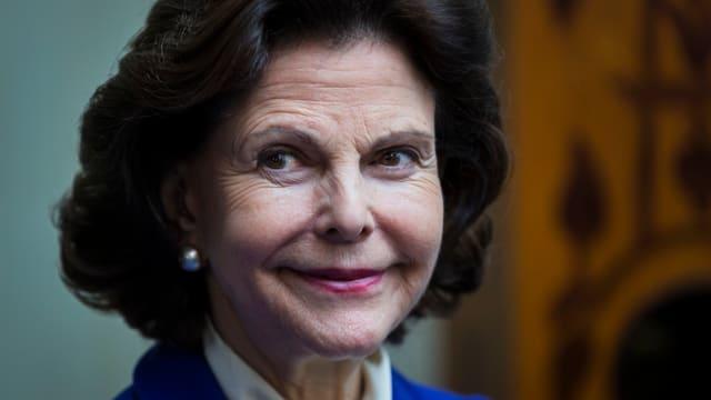 Portrait Königin Silvia.
