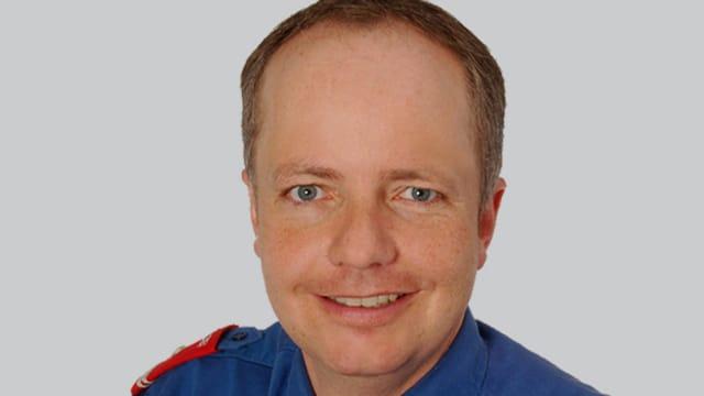 Porträtbild von Reto Pfister, neugewählter Polizeikommandant des Kantons Uri.