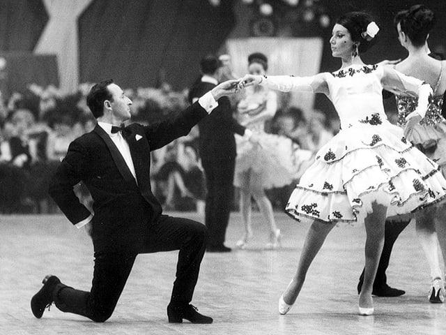 Die Kaisers gewinnen 1965 in London und werden Weltmeister in den lateinamerikanischen Tänzen.