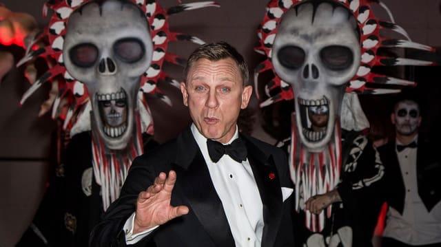 007-Darsteller Daniel Craig wirbt für «Spectre».